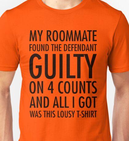 New Girl - Guilty shirt Unisex T-Shirt