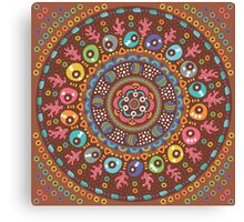 Ethnic mandala Canvas Print