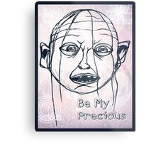 Pwease Be My Precious? Metal Print