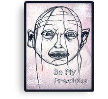 Pwease Be My Precious? Canvas Print