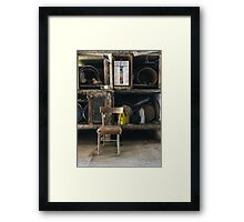 Out of time space Framed Print