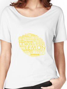 Lemon Women's Relaxed Fit T-Shirt
