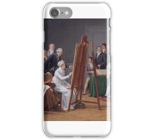 Marie-Gabrielle Capet -The Atelier of Madame Vincent  iPhone Case/Skin