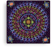 Ethnic mandala Canvas Print