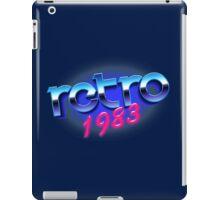RETRO 1983 iPad Case/Skin