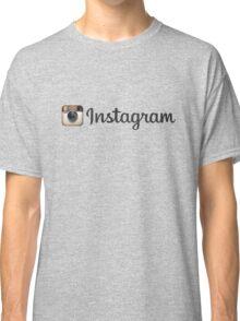 Instagram 3 Classic T-Shirt