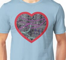 Modular Heart (Red) Unisex T-Shirt
