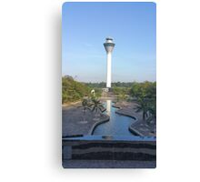 tower of reflections Canvas Print