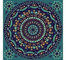 Ethnic mandala Photographic Print
