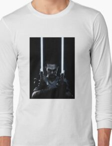 Lightsaber dude Long Sleeve T-Shirt