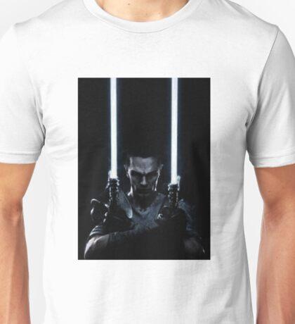 Lightsaber dude Unisex T-Shirt