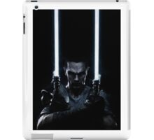 Lightsaber dude iPad Case/Skin