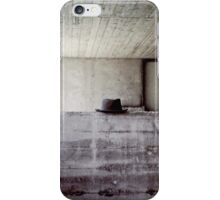hat during lunchbreak iPhone Case/Skin