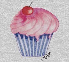 Sally's Cupcake One Piece - Long Sleeve
