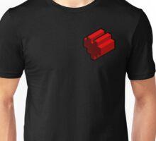 3D pixel heart Unisex T-Shirt