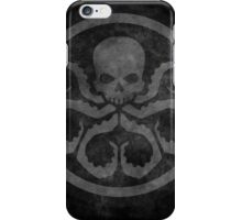 marvel hydra shield grunge iPhone Case/Skin