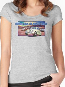 Herbie Goes To Monte Carlo Women's Fitted Scoop T-Shirt