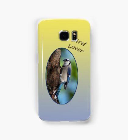 Blue Jay - Bird Lover Samsung Galaxy Case/Skin