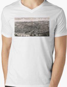 Albany - New York - 1879 Mens V-Neck T-Shirt