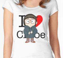 I Love Chloe Women's Fitted Scoop T-Shirt