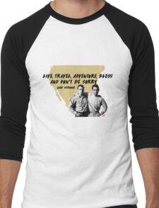 On the Road - Jack Kerouac Men's Baseball ¾ T-Shirt