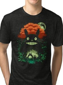 Totoro Dark Night Tri-blend T-Shirt
