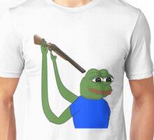 Suicidal pepe Unisex T-Shirt