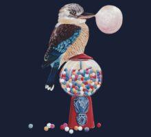 Bird gumball machine Kookaburra Kids Tee