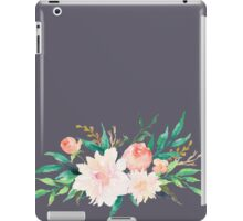 Watercolor Flowers Summer Pastel  iPad Case/Skin