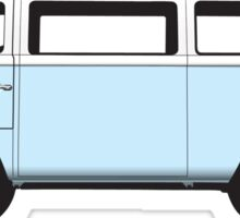 Tin Top Early Bay standard blue white Sticker