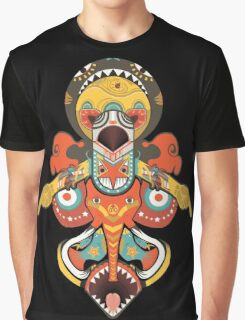 Totem Pole Graphic T-Shirt