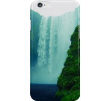 Skógafoss Waterfall - Iceland  iPhone Case/Skin