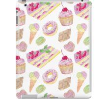 Sweets tasty print iPad Case/Skin