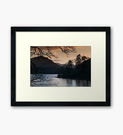 View over Derwentwater, Lake District Framed Print