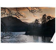 View over Derwentwater, Lake District Poster