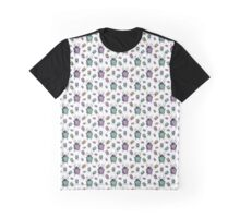 colorful bug pattern Graphic T-Shirt