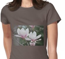 May Magnolias Womens Fitted T-Shirt