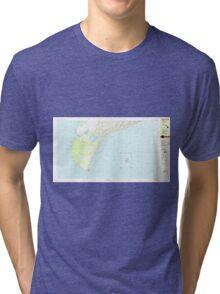 USGS TOPO Map Hawaii HI Niihau South 349819 1984 25000 Tri-blend T-Shirt