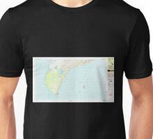 USGS TOPO Map Hawaii HI Niihau South 349819 1984 25000 Unisex T-Shirt