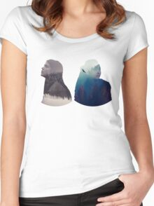 Octavia & Raven - The 100 - Forest Women's Fitted Scoop T-Shirt