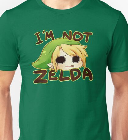 I'm Not Zelda! Unisex T-Shirt