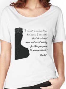 Quote Violet of Downton Abbey Women's Relaxed Fit T-Shirt