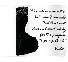 Quote Violet of Downton Abbey Poster