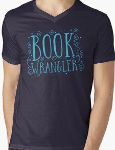 Book wrangler Mens V-Neck T-Shirt