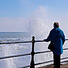 Watching the waves. by John (Mike)  Dobson
