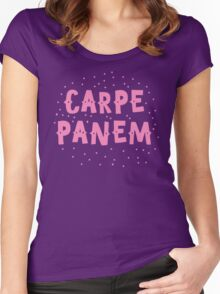 CARPE PANEM (seize the CAKE) Women's Fitted Scoop T-Shirt
