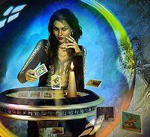 DUKKERIN' ... fortune teller by shadowlea
