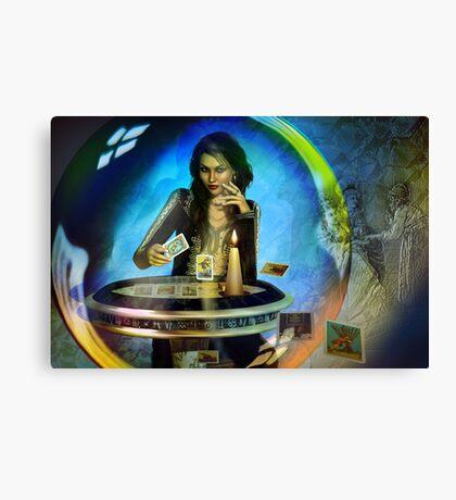 DUKKERIN' ... fortune teller Canvas Print