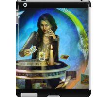 DUKKERIN' ... fortune teller iPad Case/Skin
