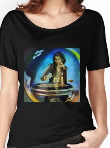 DUKKERIN' ... fortune teller Women's Relaxed Fit T-Shirt